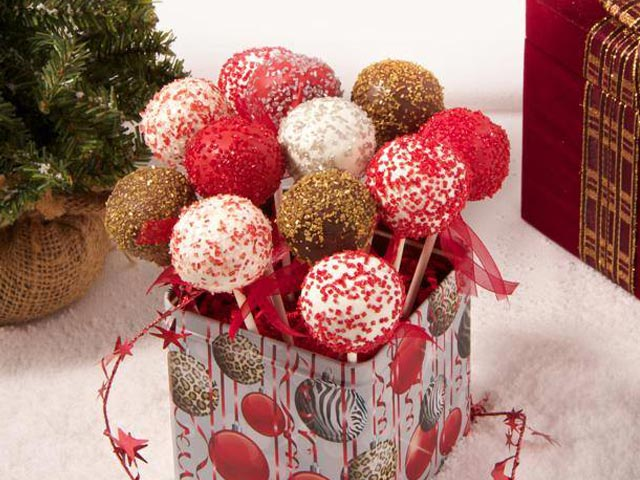 Seasonal Cake Pop Bouquets