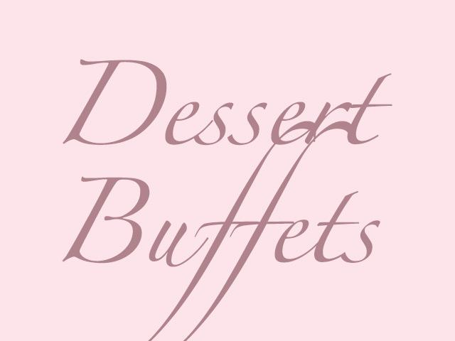 Dessert Buffets
